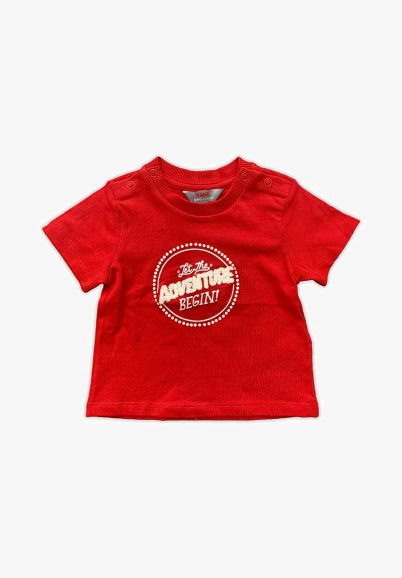 Kanz - Print T-shirt - dark red