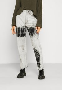 Weekday - ROWE ECHO - Relaxed fit jeans - black/white - 0