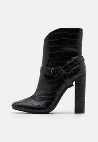 Glamorous - Ankelboots med høye hæler - black - 1
