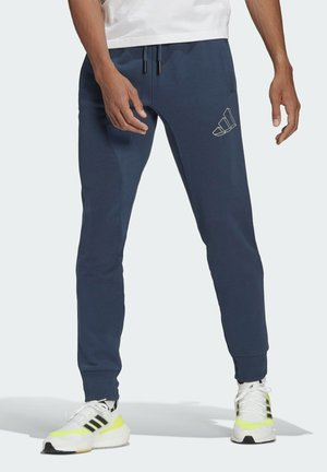 FI GRAPHIC PT BD MUST HAVES SPORTS REGULAR PANTS - Tracksuit bottoms - blue
