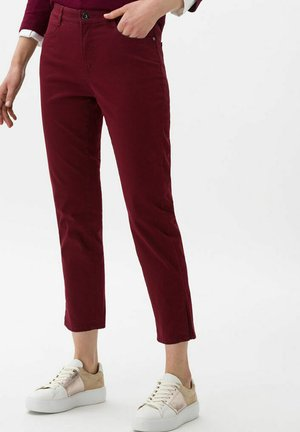 MARY S - Trousers - bordeaux