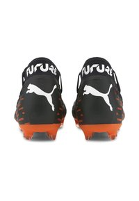 Puma - NETFIT EVO - Fußballschuh Nocken - black-white-shocking orange - 4