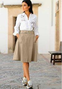 Alba Moda - Button-down blouse - weiß,beige - 4