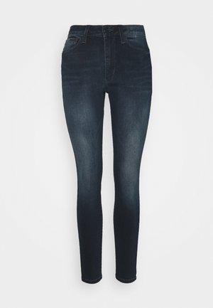 SYLVIA HR SUPER SKNY JDBST - Jeans Skinny Fit - jade dark blue