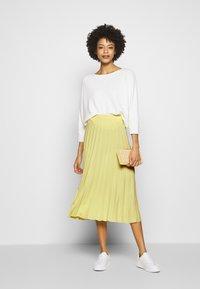 Opus - RICCA - A-line skirt - fresh lemon - 1