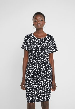 KAJESSI - Day dress - black/white