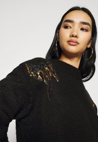 Scotch & Soda - WITH FLAME PATTERN - Jumper - black - 4