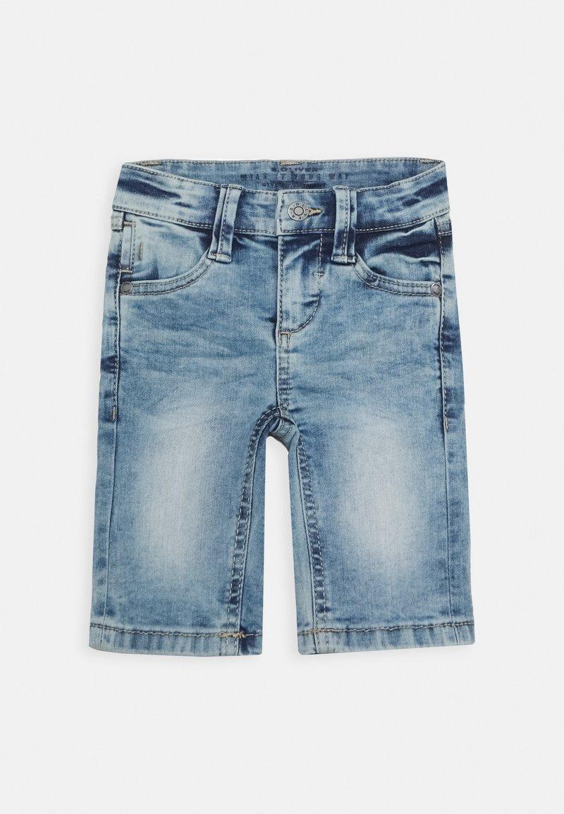 s.Oliver - Denim shorts - blue star