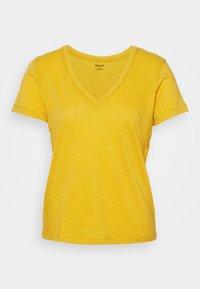 Madewell - MWELL WHISPER V NECK TEE - Basic T-shirt - nectar gold - 3