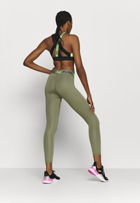 Puma - MODERN SPORTS BANDED - Tights - deep lichen green - 2