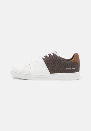 CASPIAN - Sneakers basse - brown/white