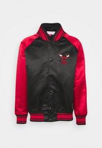 Mitchell & Ness - NBA CHICAGO BULLS BIG FACE COLOSSAL JACKET - Club wear - black - 5