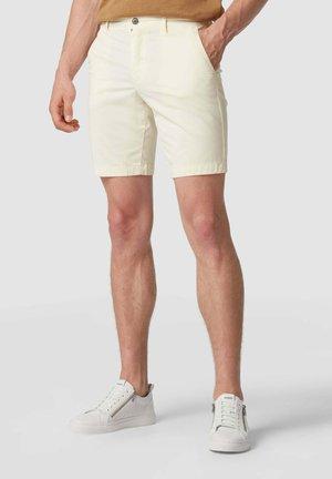 MIT STRETCH-ANTEIL - Shorts - beige