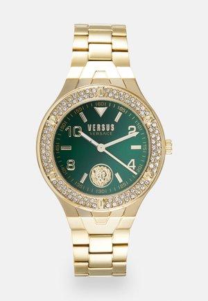 VITTORIA - Watch - gold-coloured/green