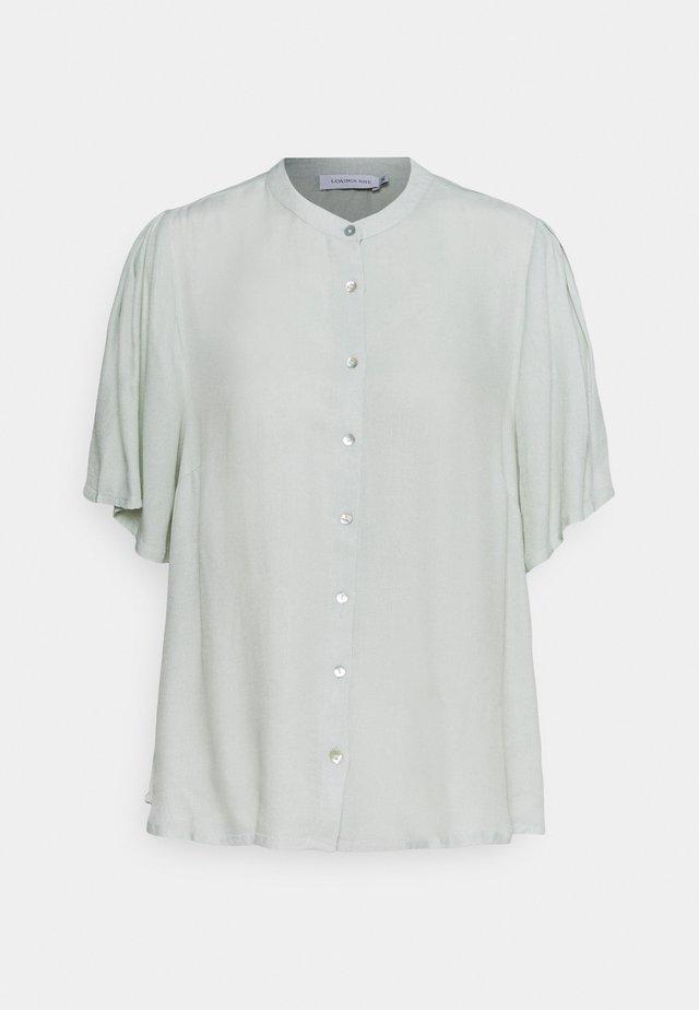 OTTOLINE - Button-down blouse - mercury