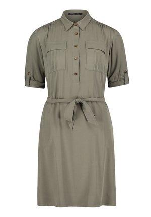 Shirt dress - dusty olive