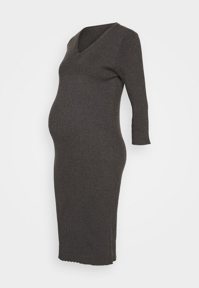 TUBE DRESS - Jumper dress - charcoal