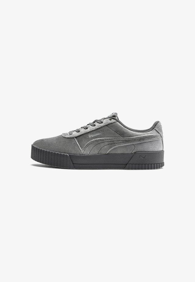 CARINA  - Sneakers basse - castlerock metallic silver