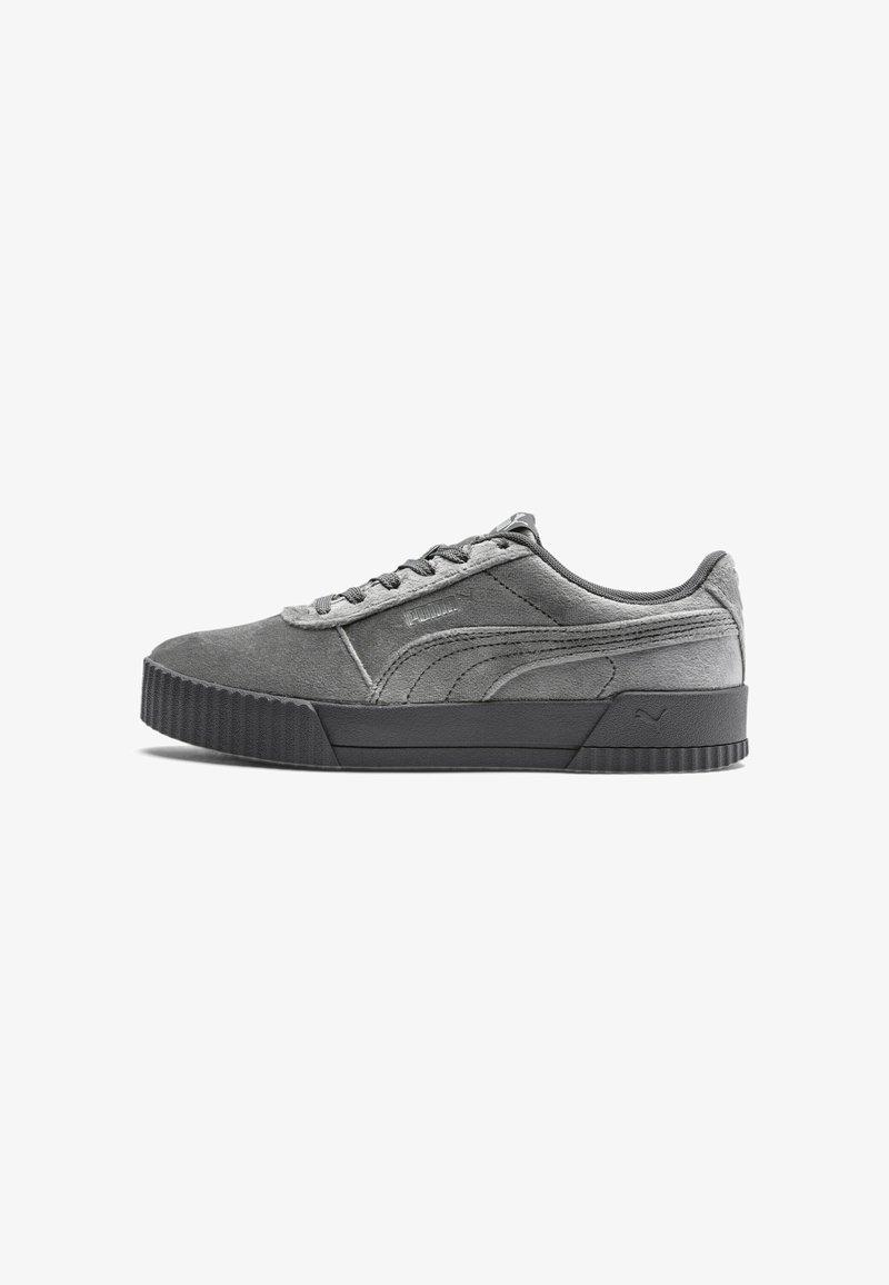 Puma - CARINA  - Sneakers laag - castlerock metallic silver