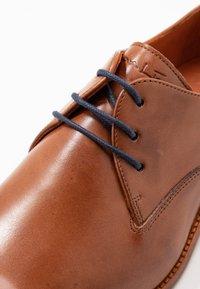 Van Lier - CARMELO - Smart lace-ups - cognac - 5