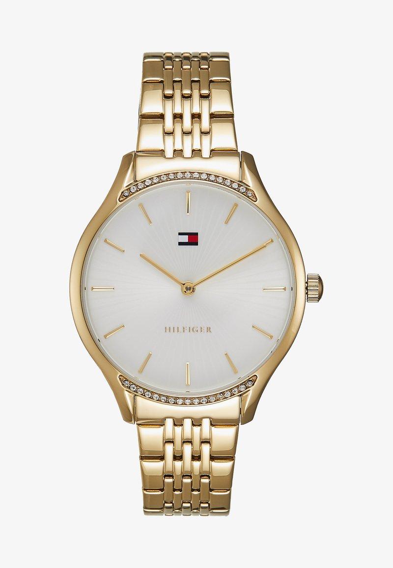 Tommy Hilfiger - GRAY - Uhr - gold-coloured