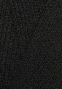YAS - Abito in maglia - black - 2