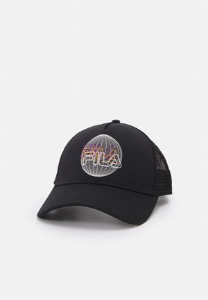 TRUCKER ARTWORK LOGO UNISEX - Cap - black
