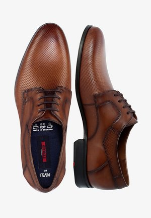 LEVIN - Smart lace-ups - brown
