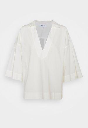 CHANNING POPOVER - Basic T-shirt - blanc