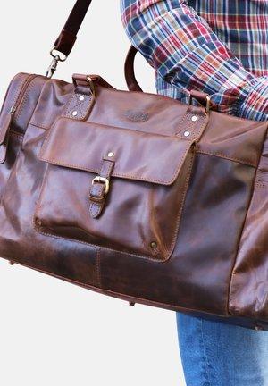 WEEKENDER - YALE - Weekend bag - braun-cognac