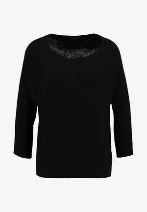 VMNORA  BOATNECK - Strikpullover /Striktrøjer - black