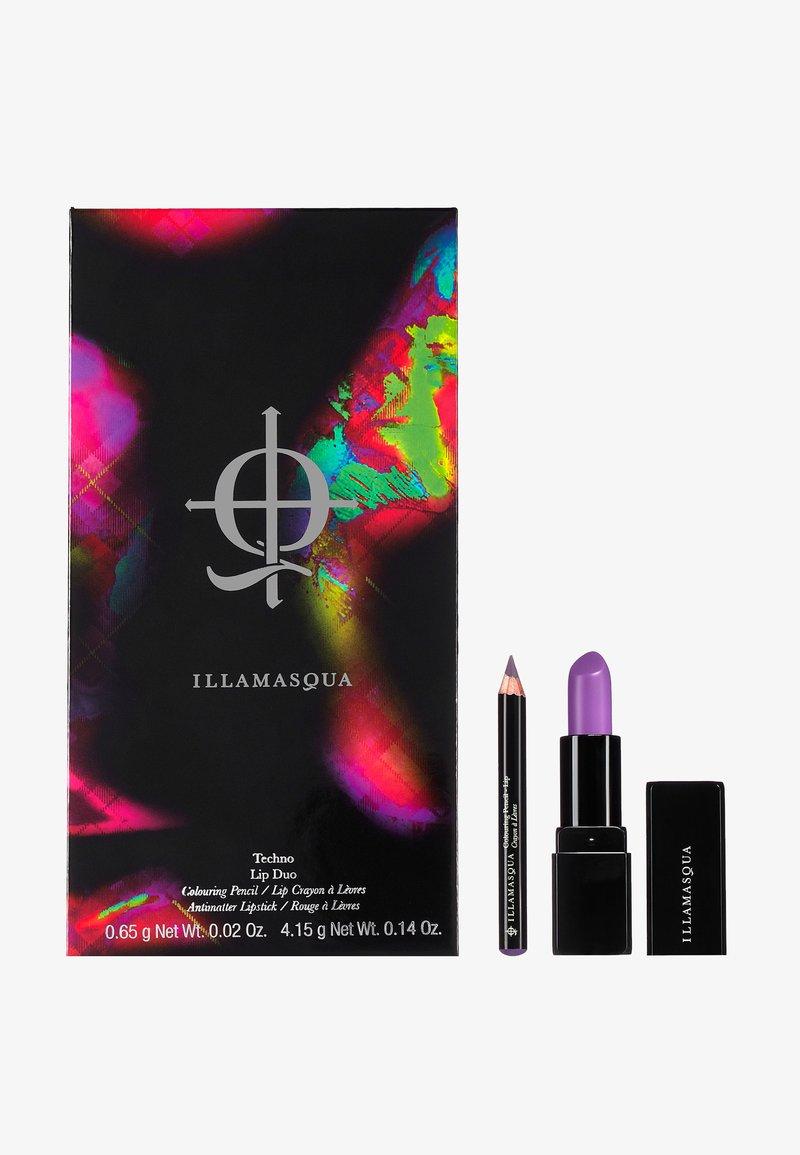 Illamasqua - NEON TARTAN LIP DUO - Makeup set - purple