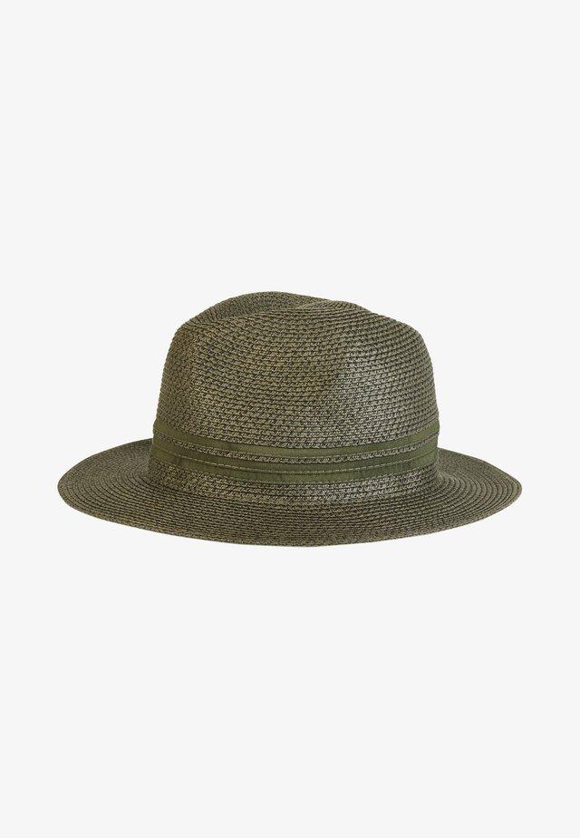 Hat - khaki