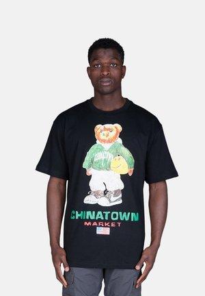 Basketball Bear - Print T-shirt - nero