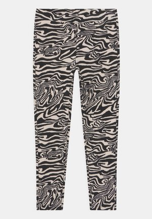 LOVE - Leggings - Trousers - black