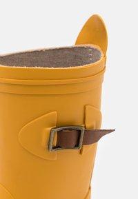 Bisgaard - SCANDINAVIA UNISEX - Wellies - mustard - 5