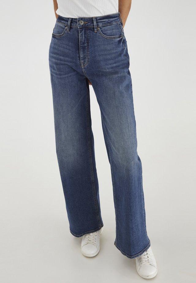 Jeans a zampa - medium blue