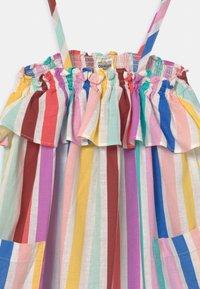 OshKosh - Rainbow Stripe Dress - Denní šaty - yellow/red/multi-coloured - 2