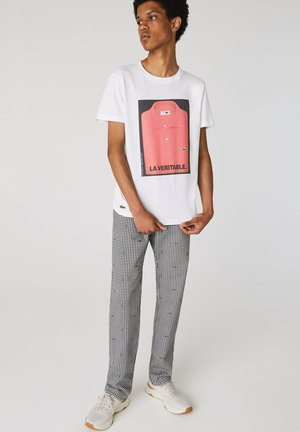 REGULAR FIT TH1548 - Print T-shirt - weiß