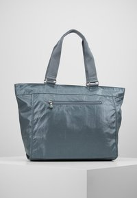 Kipling - NEW SHOPPER - Tote bag - steel geyr metal - 2