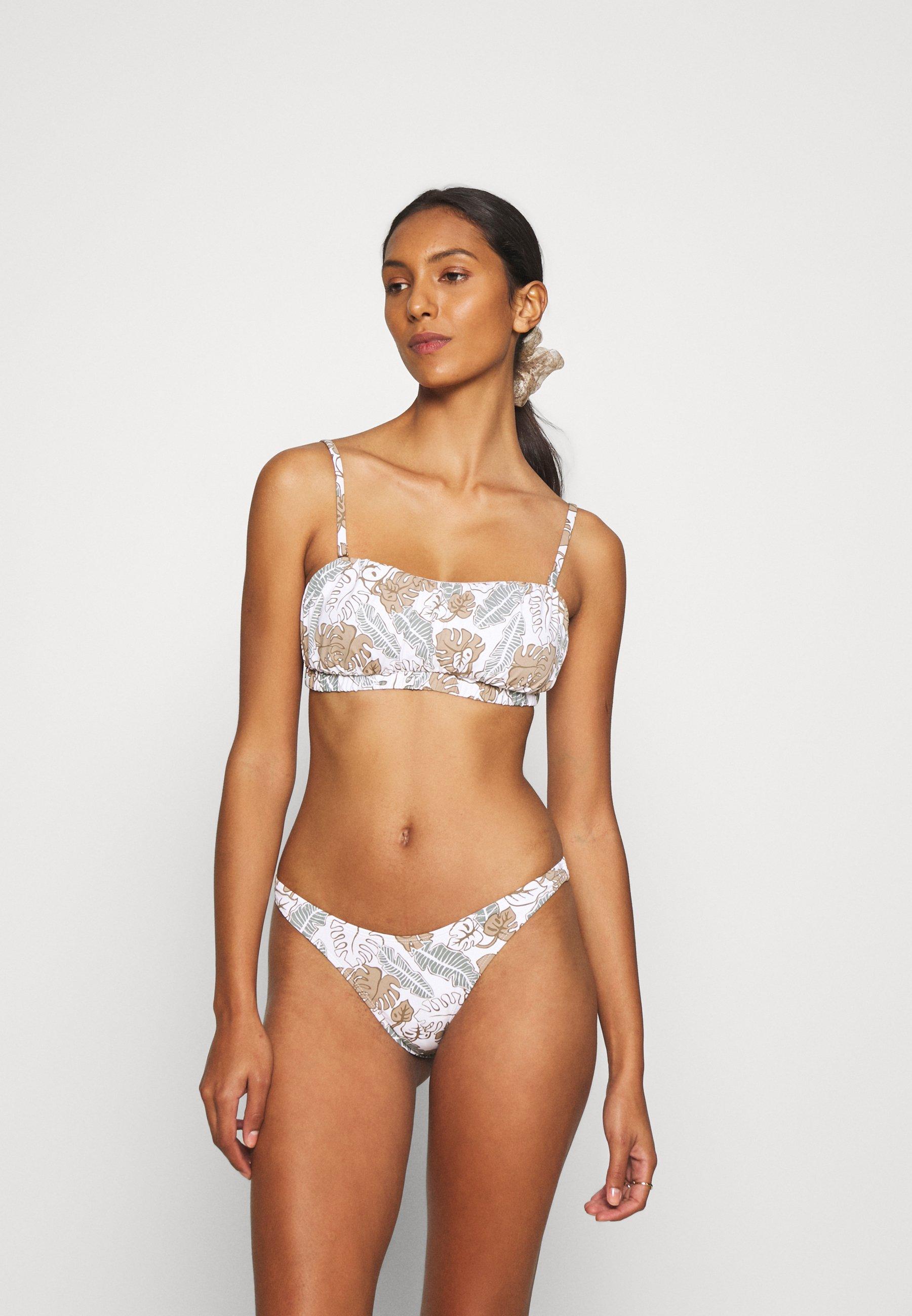 Women GATHERED BANDEAU BRAZILIAN  - Bikini