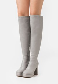 RAID Wide Fit - WIDE FIT CAROLINA - Over-the-knee boots - grey - 0