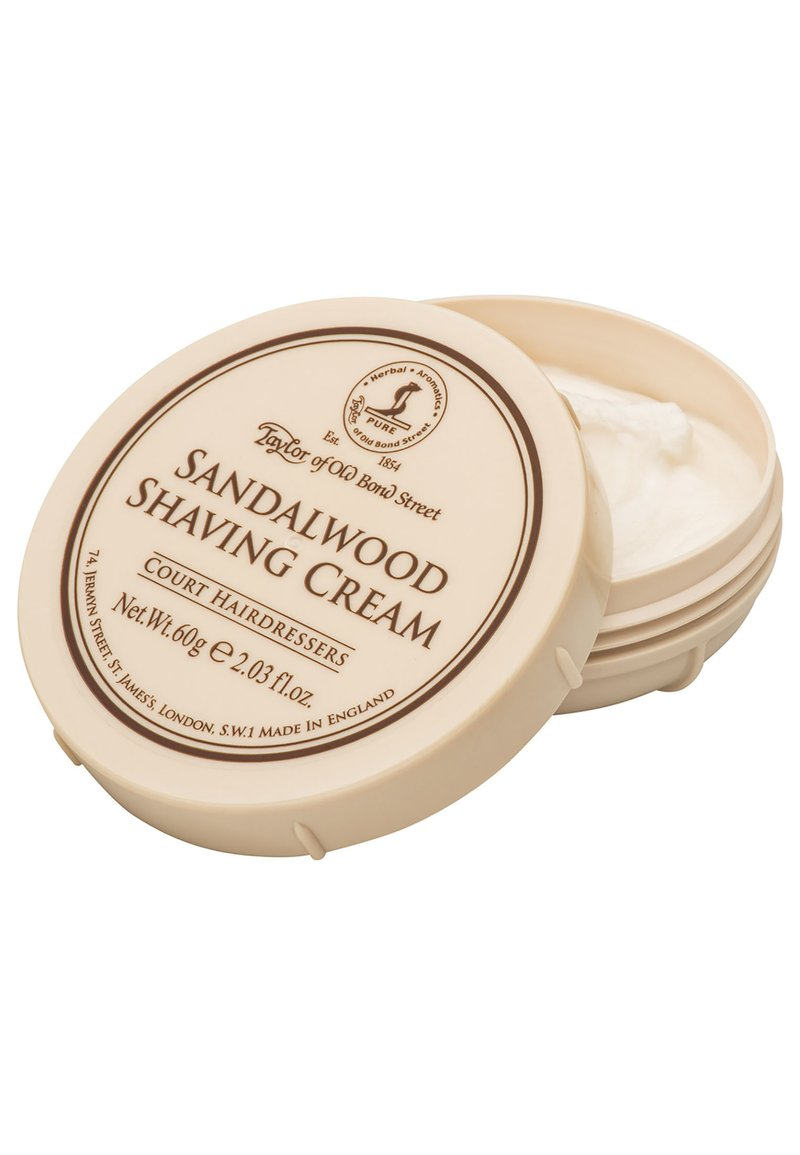 Taylor of Old Bond Street - SANDALWOOD SHAVING CREAM - Shaving cream - -