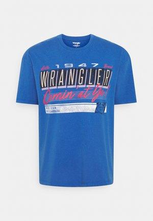 CAR TEE - T-shirt z nadrukiem - blue