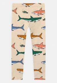 Lindex - MINI SHARK - Leggings - beige - 1