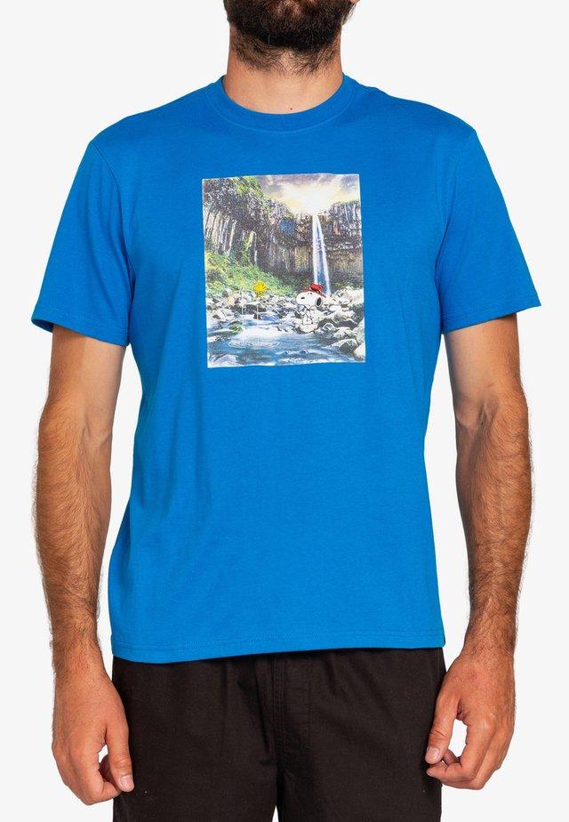PEANUTS ADVENTURE - T-shirts print - imperial blue