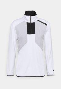 BRAYTON - Fleece jumper - optic white