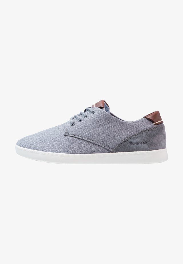 HENNING - Sneakersy niskie - steel grey