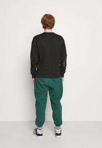 Carlo Colucci - UNISEX - Sweatshirt - black reflective - 2