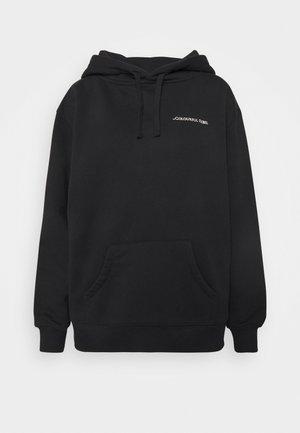 HIGH VOLTAGE OVERSIZED HOODIE - Sweater - black